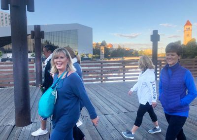 Downtown Spokane Power Walk